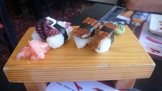 Musashi Japanese Restaurant : nigiris