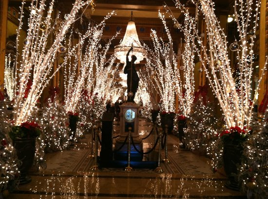 New Orleans Christmas.Lobby At Christmas Picture Of The Roosevelt New Orleans