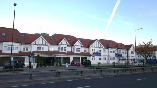 Best Western Palm Hotel: Hotel front