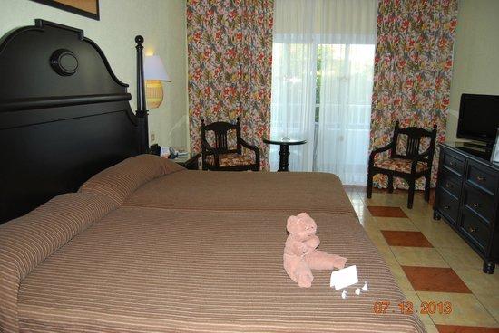 Hotel Riu Playacar: Belle chambre, toujours propre