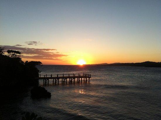 Media Luna Resort & Spa: sunset