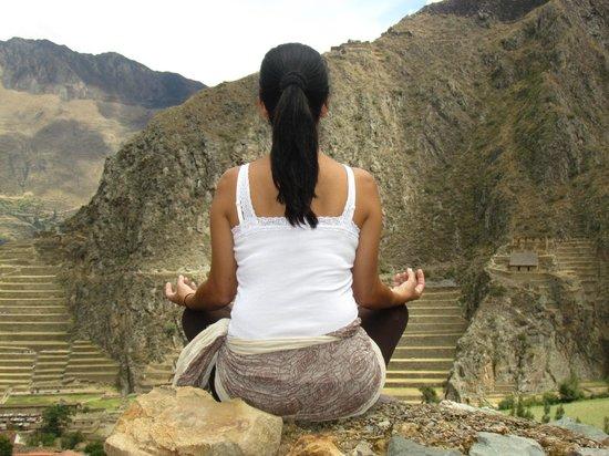 Pinkuylluna Mountain Granaries: Meditação e muita paz...