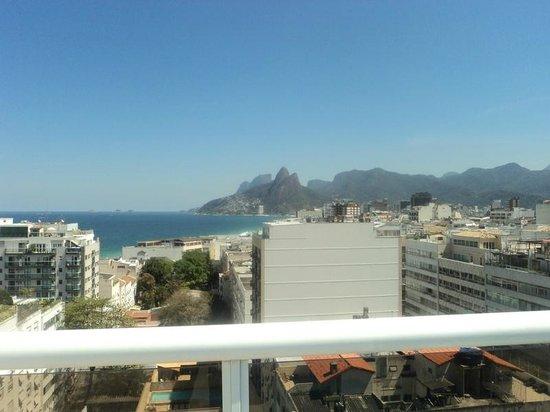 Atlantis Copacabana : Vista terraza