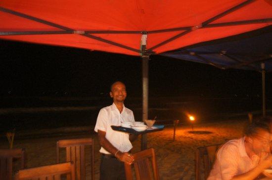 7th Sky Idyll Guesthouse: BBQ on the beach