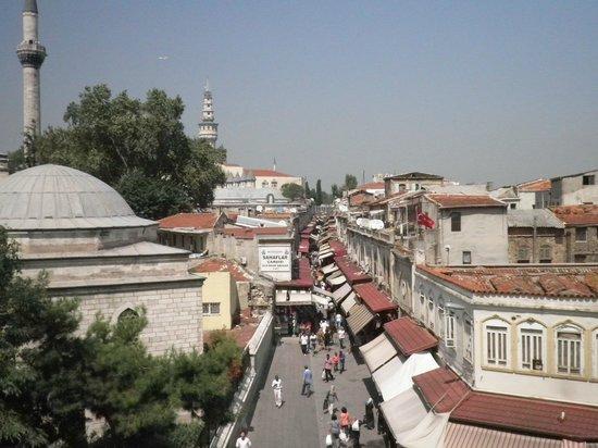 Hotel Darussaade Istanbul: vista do terraço