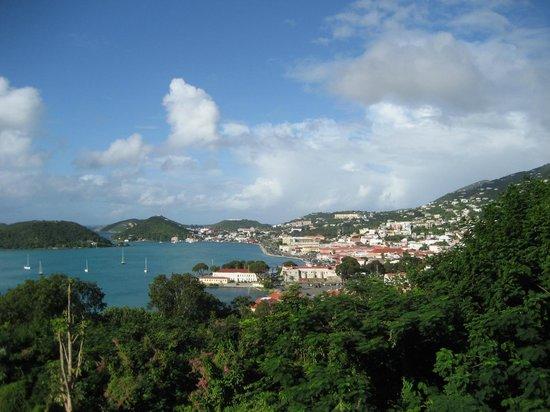 Bluebeard's Castle Resort : View on Charlotte Amalie
