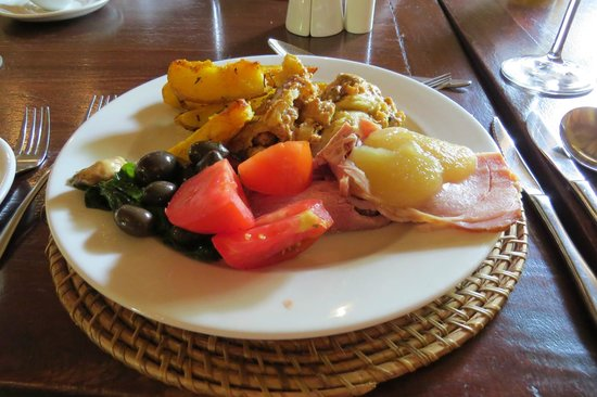 Kapama River Lodge: Buffet al almuerzo