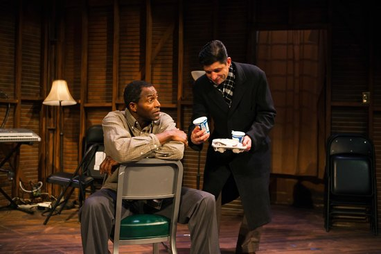 San Francisco Playhouse : Carl Lumbly and Gabriel Marin in Storefront Church