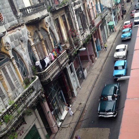 Casa Eclectica 1925: This is the amazing balcony view