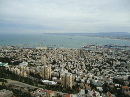 Dan Panorama Haifa: Vista do Hotel de Dia