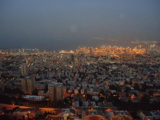 Dan Panorama Haifa: Vista do Hotel no Final do Dia