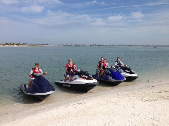 H2O Jet Ski Rentals & Tours of Clearwater Beach: great day on the water!