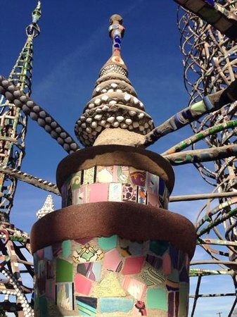 Watts Towers: towers