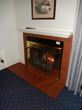 Colton Inn: using the fire was free