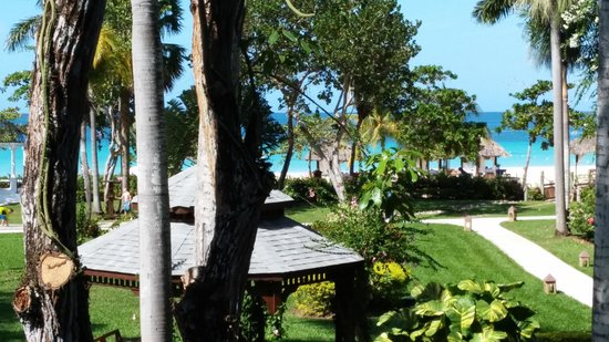 Beaches Negril Resort & Spa: View from our room