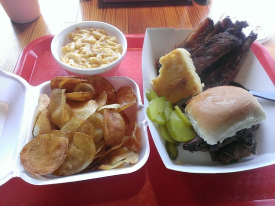 Bub's BBQ: Ribs and brisket