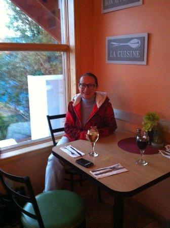 Bayside Bed & Breakfast: Dancing Moose cafe