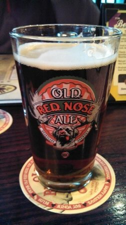 Heartland Brewery Midtown : The Ole Red Nose Ale!