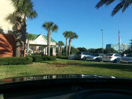 Country Inn & Suites By Carlson, Orlando Airport: View from west side parking