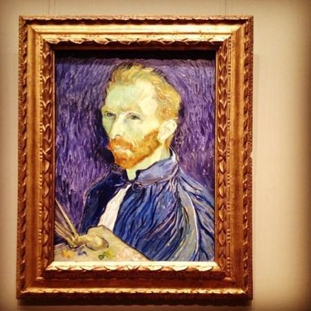 National Gallery of Art : self portrait Van Gogh