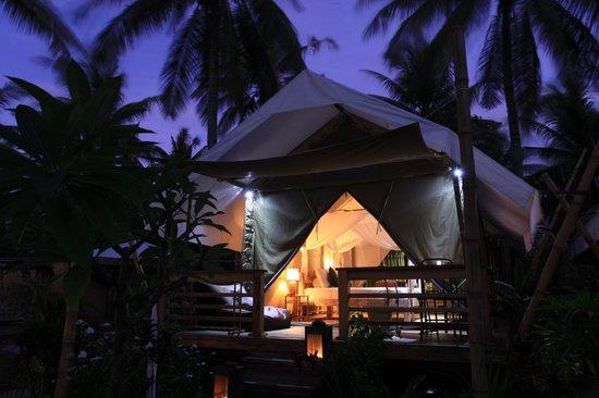 La Cocoteraie Ecolodge Luxury Tents: La Cocoteraie Ecolodge in Gili Trawangan