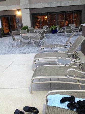 Hampton Inn Naples I-75: Pool Deck