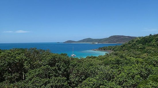 Viewpoint of Whitehaven Beach