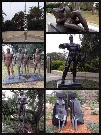 The Sydney and Walda Besthoff Sculpture Garden at NOMA : NOMA Sculpture Garden
