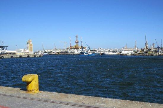 The Table Bay Hotel: Puerto - Parte trasera del hotel