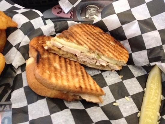 Depot Street Malt Shop: Chicken Panini