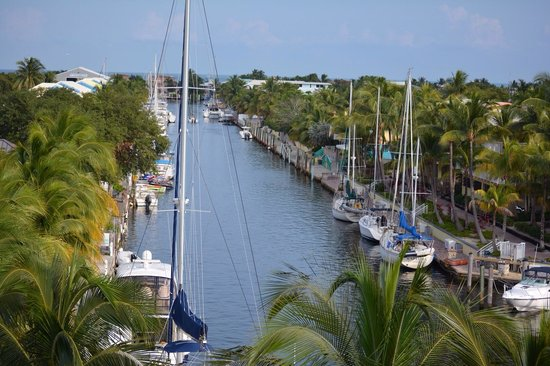 Courtyard by Marriott Key Largo: This was are view :)