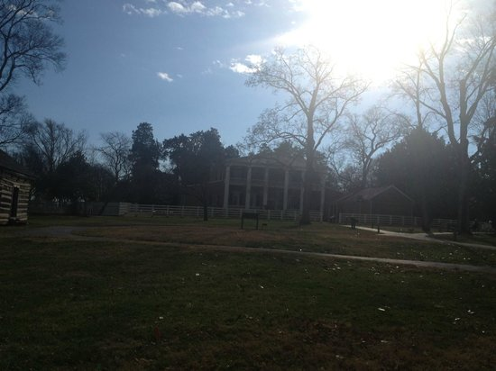 Andrew Jackson's Hermitage: back of the hosue