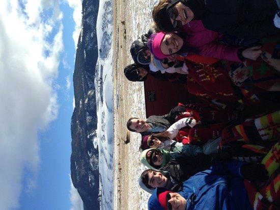 National Elk Refuge: The whole crew!