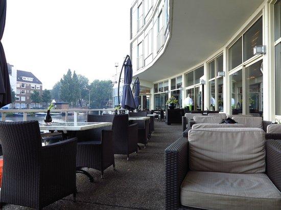 Apollo Hotel Amsterdam: Expansión desde el comedor