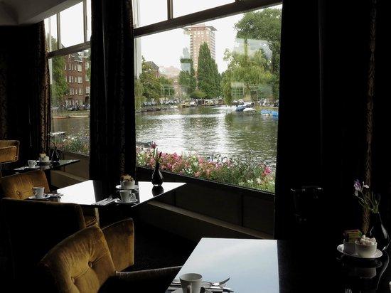 Apollo Hotel Amsterdam: Hermosa vista desde el desayunador