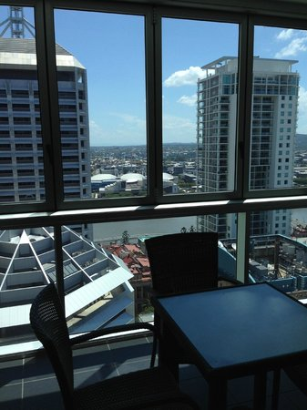 Oaks Festival Towers: View from Dining Room