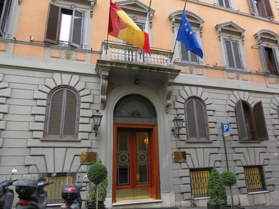 Barberini Hotel : Front of Hotel Barberini