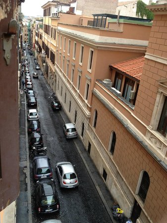 Barberini Hotel: View from room