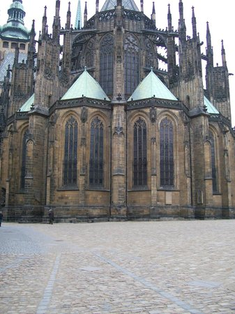 Château de Prague : Saint Vitus Cathedral