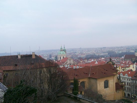 Château de Prague : View fromthe Castle
