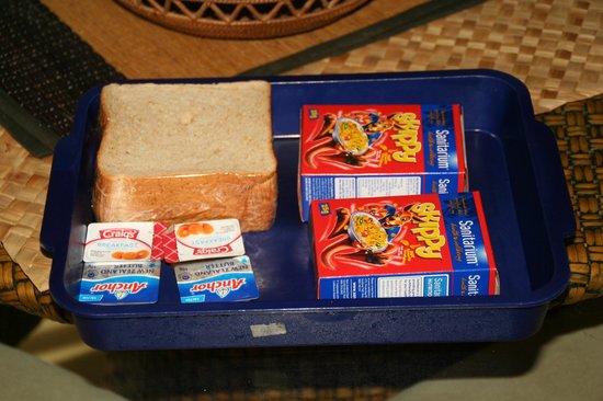 Muri Beachcomber: Frühstücksbox ;-((