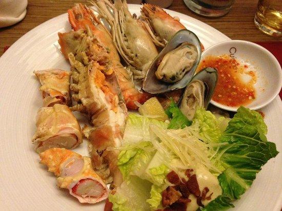 Pullman Bangkok King Power : seafood buffet