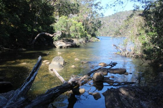 Ku-ring-gai Chase National Park: The Wrong end