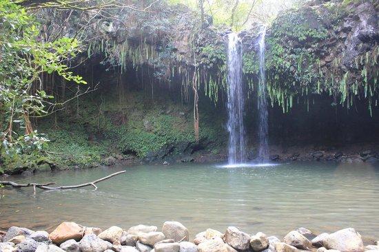 Hike Maui : Twin waterfalls