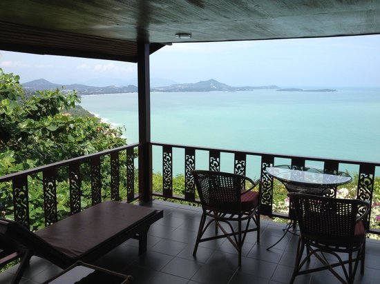 Samui Mountain Village: View from Cabins
