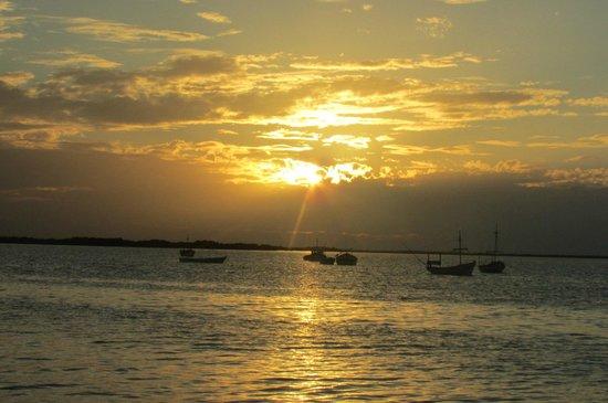 Posada Inn El Faro: atardecer en Río Lagartos
