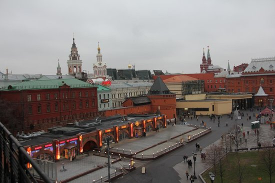 Hotel Metropol Moscow : View from patio