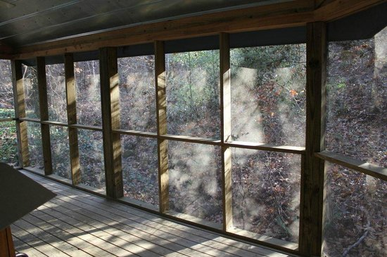 Butterfly Gap Retreat: Screened In Porch