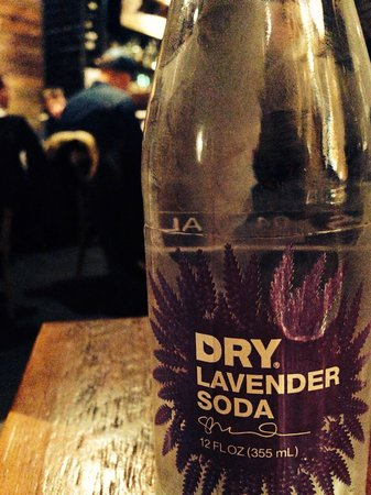 Laundry Restaurant: Lavender soda! Super yummy!