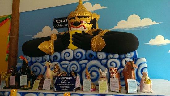 Wat Nerachararam: Der Beschützer des Wats?